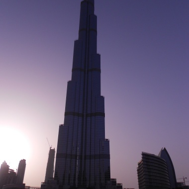 Burj Khalifa, Dubai at Sunset