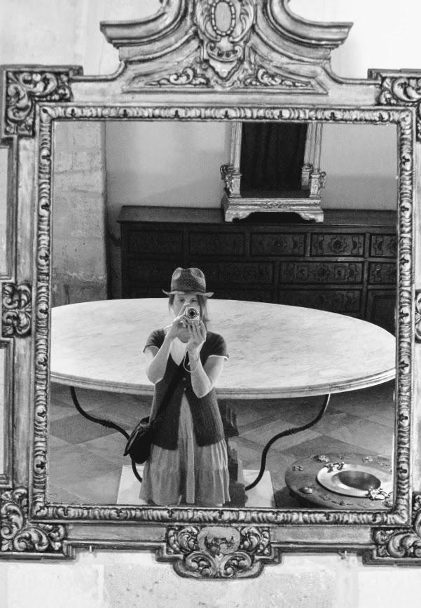 There were so many mirrors...monastery, Granada