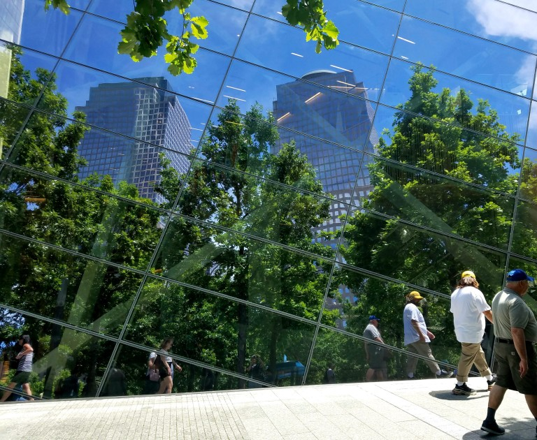 Urban Reflection at the World Trade Center, photo by LensMoments by Nichole Spates (c) 2019