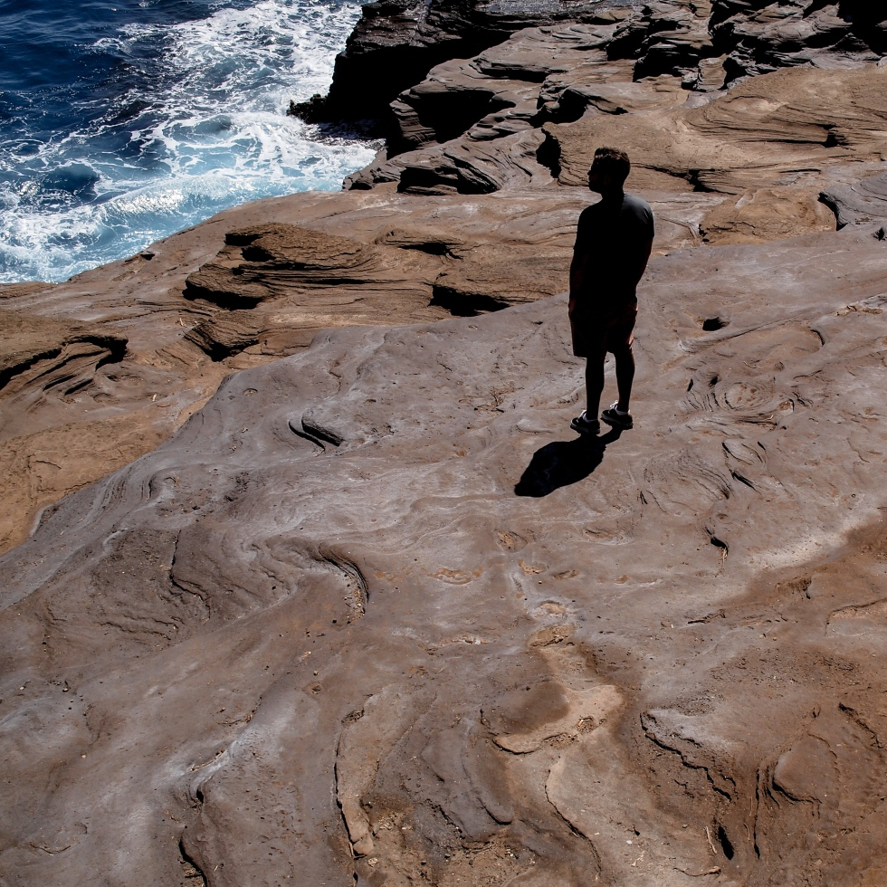 lava beach silhouette photo by LensMoments by Nichole Spates (c) 2019