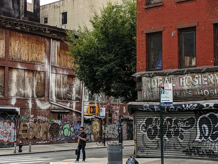Sad Street, Lower East Side photo by LensMoments by Nichole Spates (c) 2019