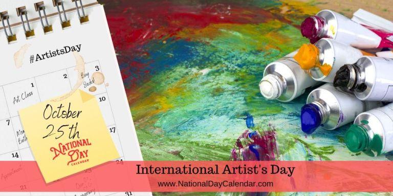 International-Artists-Day-October-25